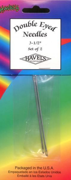 Havel's Double Eyed Needles