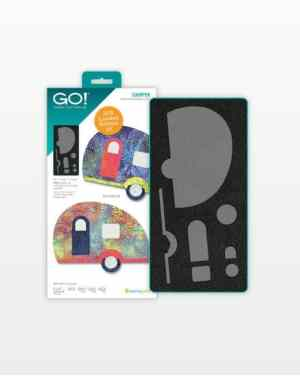 AccuQuilt GO! Camper Limited Edition Die - Fabric Cutter Die-55228