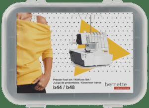 Bernette Serger 6 Piece Presser Foot Set for the Bernette B44 and B48