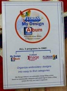 Floriani's My Design Album - Embroidery Design Software - MDA