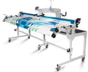 Baby Lock Regalia 20 inch Longarm Quilting Machine With Baby Lock Kinetic Frame