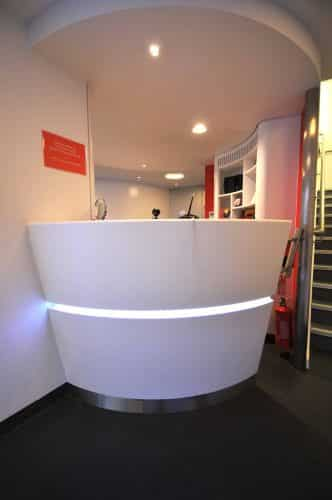 London Transport Museum Reception Desk
