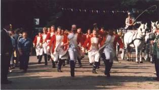 Schützenfest 1997: Sappeure - Attacke