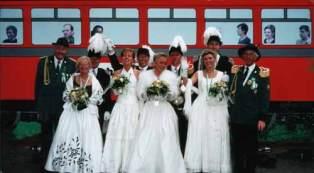 Schützenfest 2000: Thron