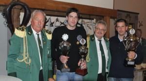 Die Sieger des Preis- und Pokalschießens 2011