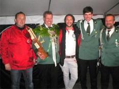 Kaiserschießen 2013: Siegerehrung