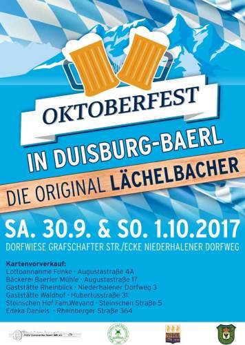 Oktoberfest Baerl 2017