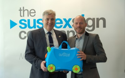 The day The Sussex Sign Company met Trunki