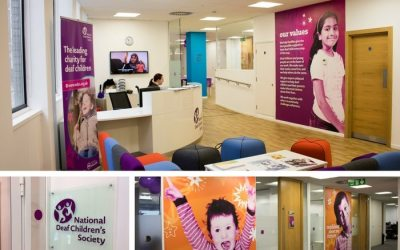 Office Transformation for Deaf Children's Charity