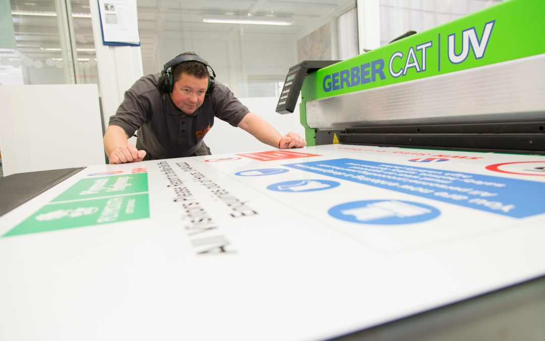 A day in the life of the PCH Manufacturing Sign Shop