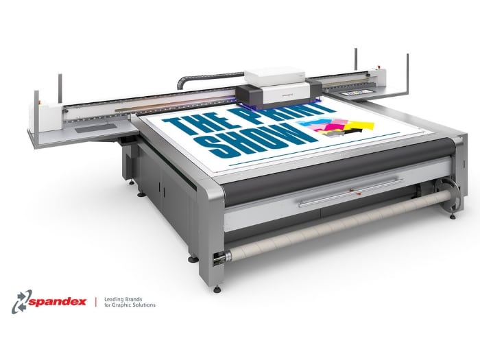 Spandex to showcase the swissQprint Impala flatbed printer at The Print Show2018
