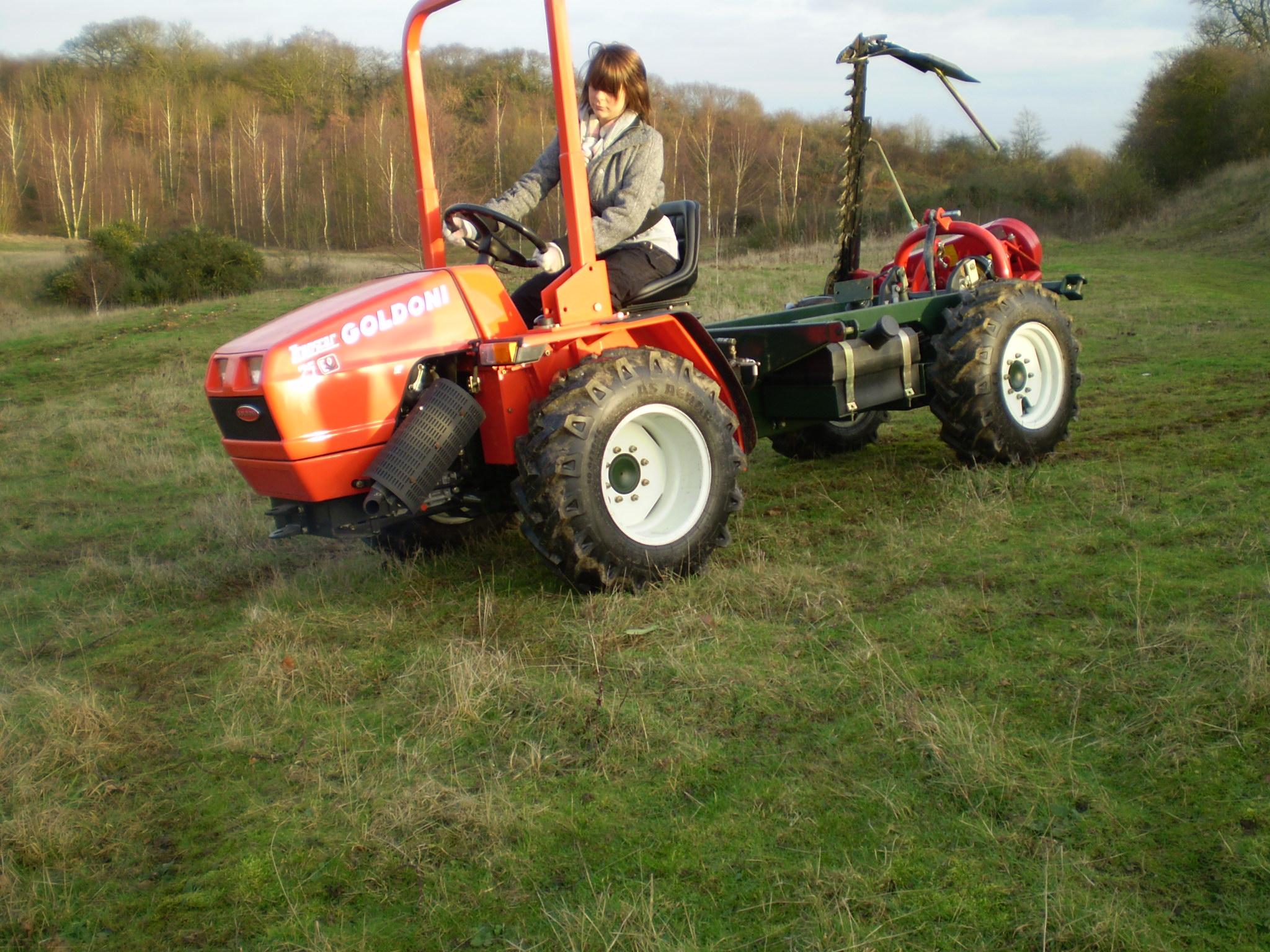 Building Garden Tractor