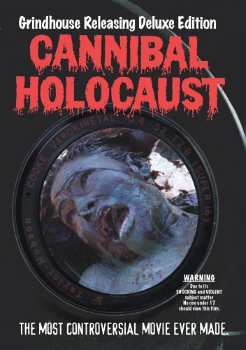 Cannibal Holocaust Locandina dvd usa