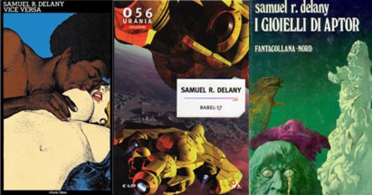 """Intervista a MAURIZIO NATI  Samuel Ray Delany - """"Vice Versa"""" copertina di Moebius - """"Babel 17"""" - """"I Gioielli di Aptor"""" copertina di Karel Thole"""