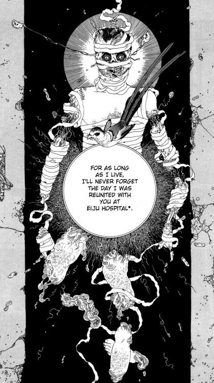 """""""Il Bruco"""" disegnato da Suehiro Maruo da un racconto di Edogawa Ranpo"""