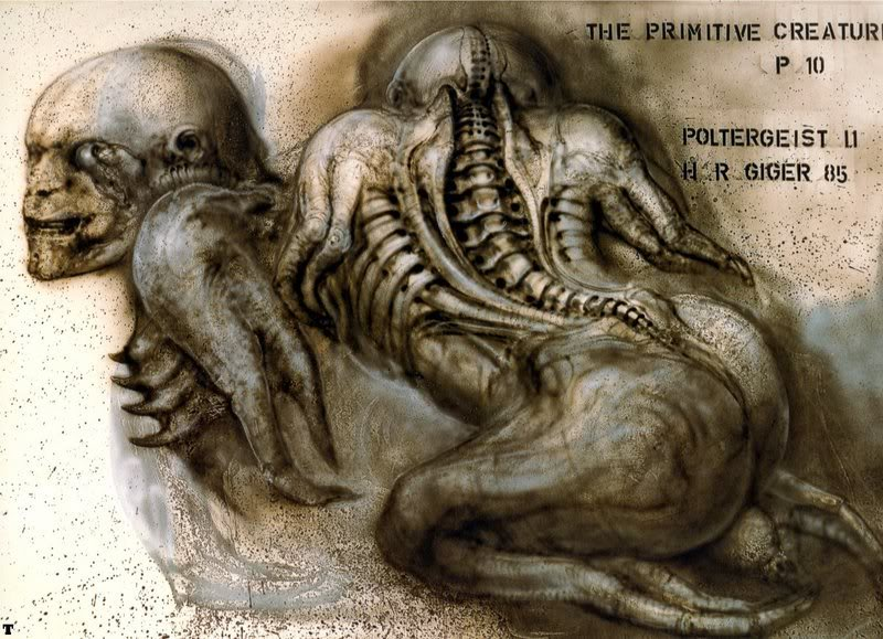 """Poltergeist II"" the primitive creature"