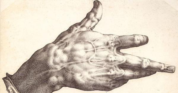 La mano deforme di Goltzius
