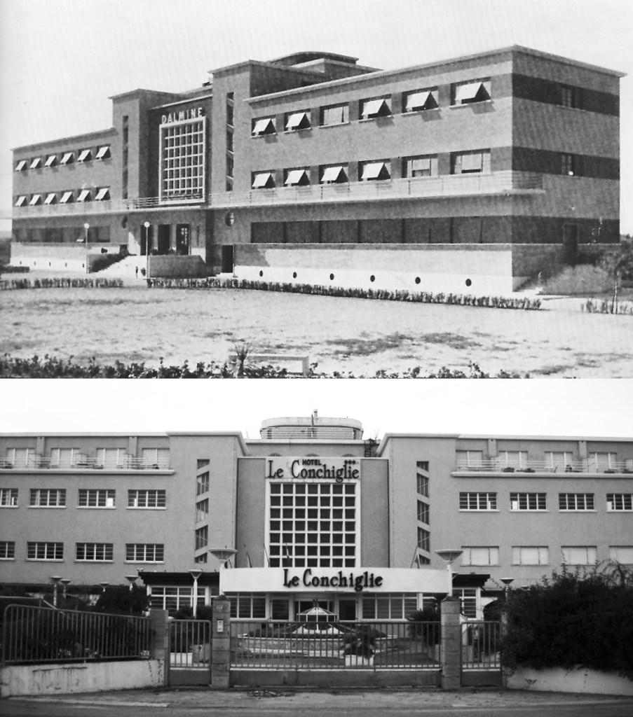 Colonie Marine - La Colonia Dalmine diventata l'albergo le Conchiglie di Rimini