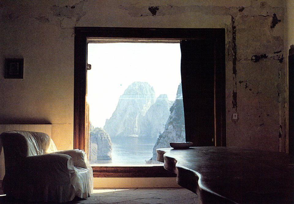 Villa Malaparte – Capri. Interno.