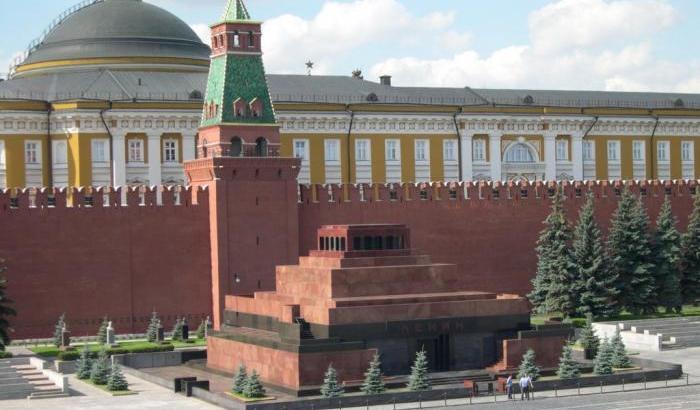 il mausoleo di Lenin a Mosca