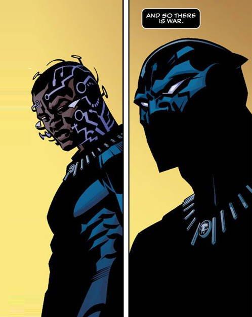 Il bravo disegnatore Brian Stelfreeze crea un look super cool alla Pantera Nera in previsione del cinepanettone Marvel.