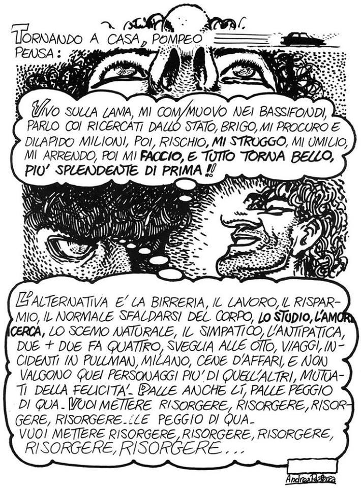 """""""Pompeo"""" di Andrea Pazienza"""