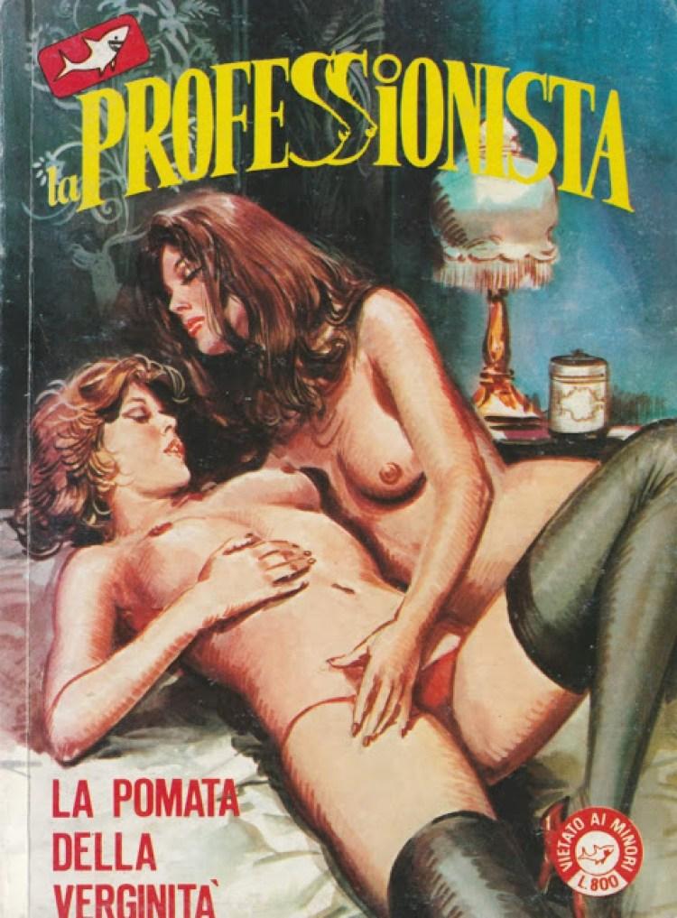 La professionista - fumetti erotici