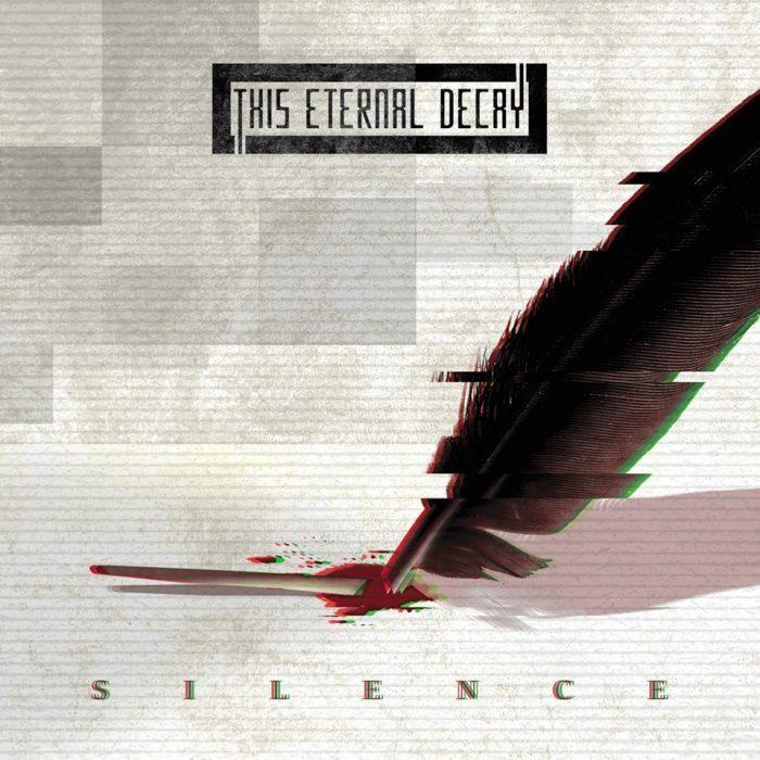 """la copertina di """"Silence"""" dei This Eternal Decay"""