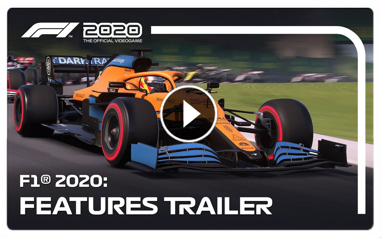 F1 2020: Features trailer ahead of release day 10 July