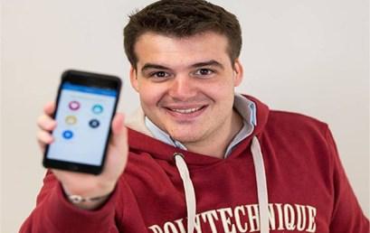 Fabien Keller's Startup BirdyCent Gets Coverage on French National TV!