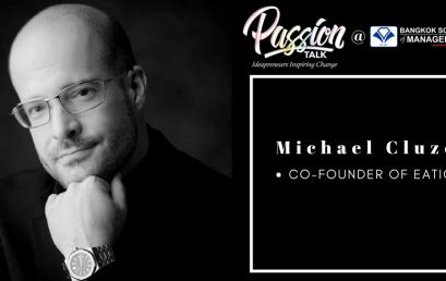 Date: March 6thPassion Talk – Ideapreuners Inspiring Change Serial Events:  Meet the co-founder of Eatigo, Michael Cluzel