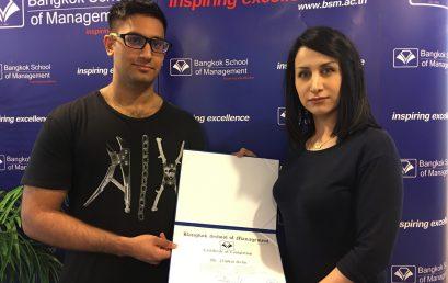"""Niphan Sethi, Aspiring Indian Student, took his """"Key to Success"""""""