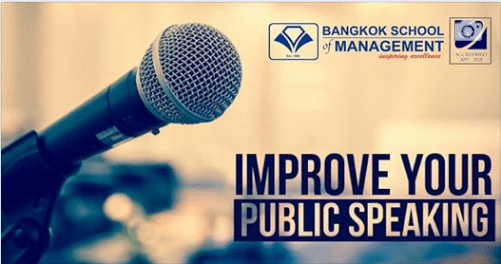 Date: March 6th – 7th  Public Speaking