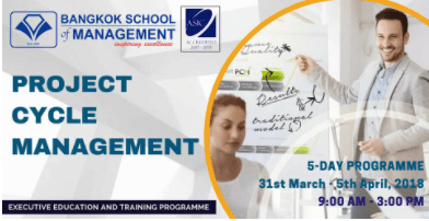 Date: March 31st and April 2nd – 5th  Project Cycle Management