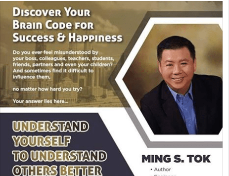 Date: May 24th-25th </br></br>Discover Your Brain Code For Success &#038; Happiness