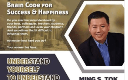 Date: May 24th-25th Discover Your Brain Code For Success & Happiness