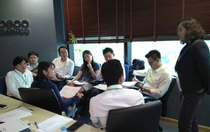 In-house training programme on Corporate Marketing delivered to Posco Daewoo Thailand