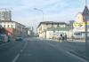 Un tratto di via Milano