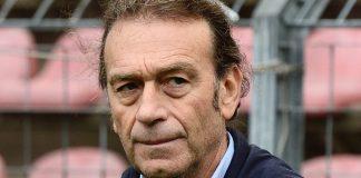 L'ex presidente del Cagliari Massimo Cellino