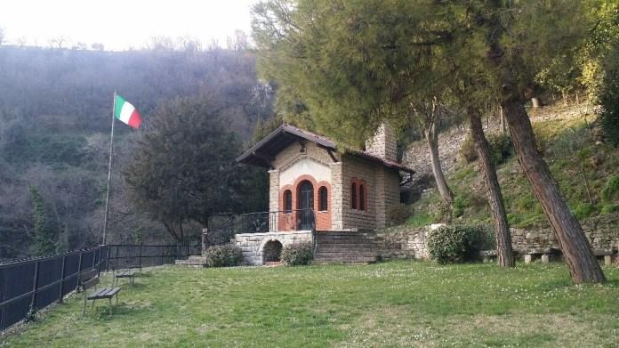 La chiesa alpina di Cellatica, foto Andrea Tortelli, www.bsnews.it