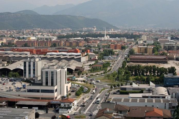 Brescia, l'area di via Dalmazia