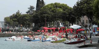 La spiagga Feltrinelli di Desenzano