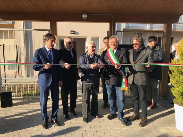 L'inaugurazione degli alloggi Aler finanziati dalla Regione a Lonato - www.bsnews.it