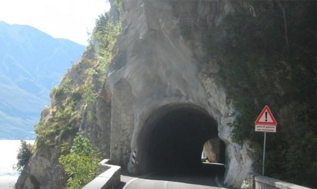 Un'immagine della strada della Forra a Tremosine, foto da Tripadvisor