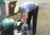 Controlli dei vigili contro lo smaltimento irregolare dei rifiuti