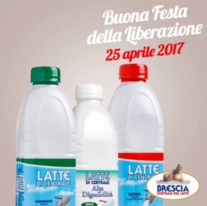 Lo spot per il 25 aprile della Centrale del latte