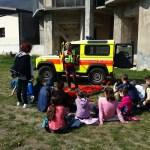 Esercitazione di sicurezza in montagna per i bambini delle elementari di Sellero con i volontari del Soccorso alpino, www.bsnews.it