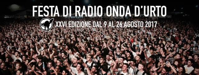La festa di Radio Onda d'urto all'edizione 2017, foto da ufficio stampa, www.bsnews.it