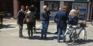 Un momento della protesta di Ghedi, foto da ufficio stampa, www.bsnews.it