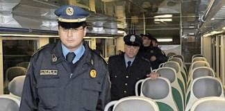 Guardie armate sui treni